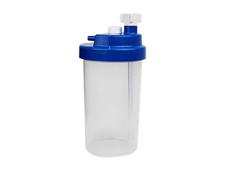 Vaso humidificador borboteador desechable 6 Lpm (psi) 500 ml